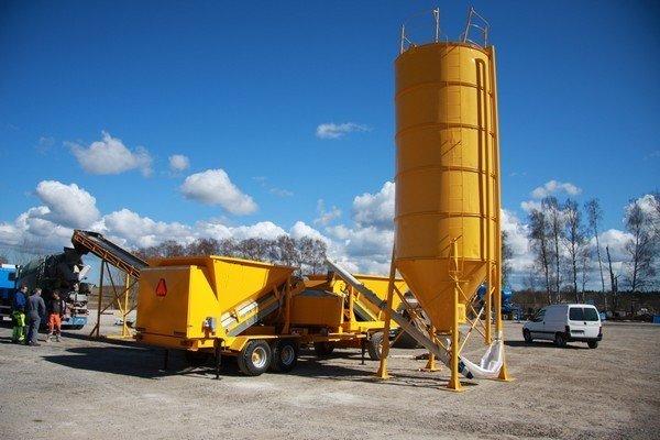 Какое оборудование понадобится для открытия бетонного завода? (Фото: autoline.by)