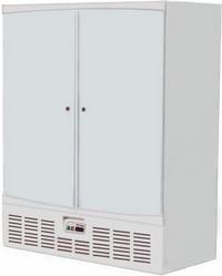 Шкаф холодильный R1400M (глухие двери). Фото с сайта klenmarket.ru