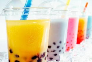 Коктейли Bubble tea как бизнес. Фото с сайта http://ekaterinburg.biglion.ru