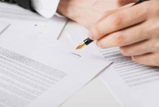 приказ о передаче права подписи документов образец