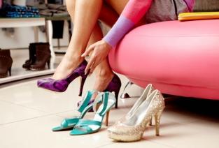Каким должен быть магазин обуви (фото: justluxe.com).