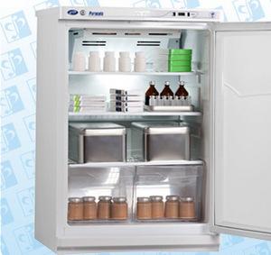 Холодильник фармацевтический малогабаритный ХФ-140 «Позис». Фото с сайта http://www.farm-invest.ru/