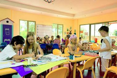 Детский развивающий центр: главное, чтобы нравилось маленьким посетителям (фото: rivage.ru).