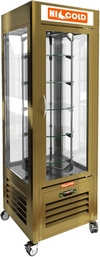 Витрина кондитерская вертикальная со вращением HICOLD VRC 350 RI-Bz. Фото с сайта klenmarket.ru
